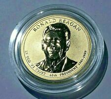 2016 S RONALD REAGAN PRESIDENTIAL DOLLAR $1 REVERSE PROOF COIN Chronicles Set