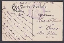 France, 1915 PPC w/ Red Cross Handstamp, Arles Museum, WWI Post Card