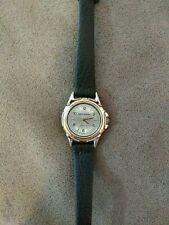 Womens ladies four queens quartz watch wristwatch genuine leather band nice look