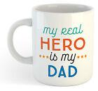 My Real Hero tiene My Dad Taza - Día De Padres Té Café DIVERTIDO