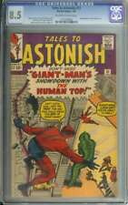 TALES TO ASTONISH #51 CGC 8.5 OW/WH PAGES