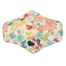 1 LONG Panty Liner Bamboo CHARCOAL Reusable Cloth Mama Menstrual Pad Bloom 10in