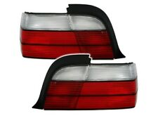 BMW 3 SERIES E36 COUPE CABRIO 1992-1999 RED WHITE VT517 SET REAR LIGHTS TAIL