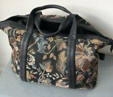 St Michael Vintage Tapestry Carpet Large Doctors Gladstone Holdall Travel Bag