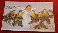 original Schokoladenpapier Felsche Leipzig N. 22 Frohe Weihnachten Christmas