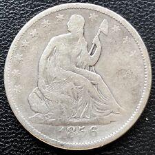 1856 Seated Liberty Half Dollar 50c Better Grade #19597