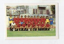 figurina CALCIO 89 EUROFLASH 1989 ANCONA SQUADRA