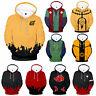 Anime Naruto0 Hokage Ninjia Hoodie Cosplay Costume Jacket Pullover Sweatshirt