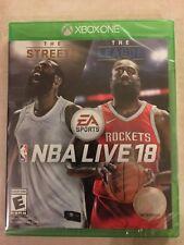 NBA Live 18 (Microsoft Xbox One, 2017) NEW
