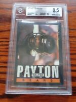 1985 Topps Football Walter Payton #33 Bears BGS 8.5 NM-MT+