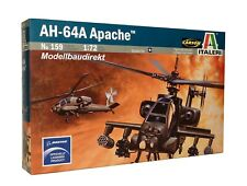 AH-64A Apache Hubschrauber Heli 1:72 Bausatz Italeri Nr. 159 NEU & OVP