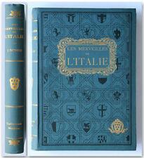 LES MERVEILLES DE L'ITALIE Fattorusso 1932 Collection Medicis