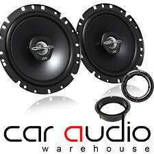 """Seat Leon MK1 1999-05 17cm 6.5"""" JVC 600 Watts Rear Door Car Speakers & Brackets"""