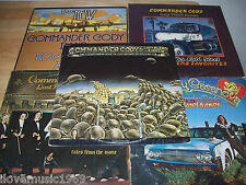 "5 Commander Cody NEAR MINT 12"" LPs 1st Pressings Tales From Ozone/Hot Licks/Lost"