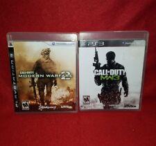 PS3 Call of Duty Modern Warfare Lot! MW2 & MW3 (Playstation 3, 2009/2011)