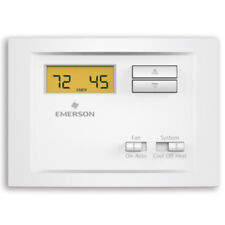 Emerson Np110 Non-Programmable Single Stage Thermostat with Backlit Display