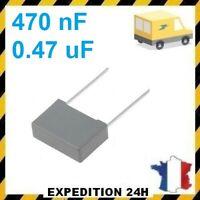 Condensateur MKP X2 0.47uF 0.47µF 470nF 474K 275V 310V 15mm