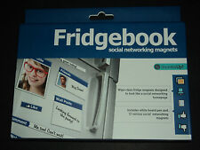 Fridgebook Magnets Social Media Networking Magnets Sealed BRAND NEW!