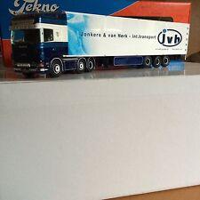 Tekno 1:50 Scania Topline Jonkers und van Herk JVH Sattelzug
