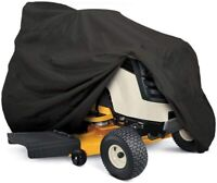 Heavy Duty Outdoor Lawn Mower Tractor Cover 55in Long w/Drawstring & Storage Bag