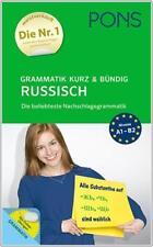 NEU: PONS Grammatik kurz & bündig RUSSISCH lernen mit Online-Übungen
