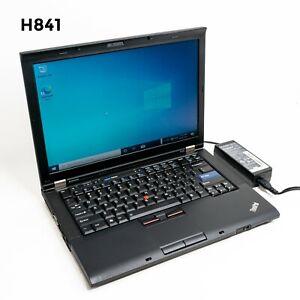 "LENOVO THINKPAD T410 14"" LAPTOP i5-560M 8GB 640GB WIN 10 PRO WEB CAM H841"