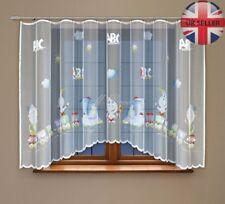 "Finest Quality window kids net curtain with curtain tape 160x300cm (63"" x 118"")"