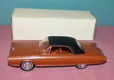 Johan 1964 Chrysler Experimental Turbine Bronze Promo Car Model with Box