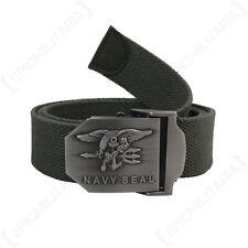 US MARINE Joint ceinture - Olive - Américain militaire toile boucle COMBAT