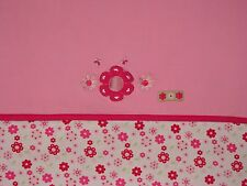 Snugtime Baby Girl Pink Blanket Floral Flower Print Cotton Receiving