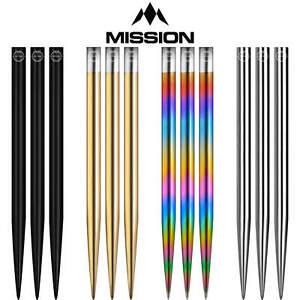 Mission | Glide Dart Points | 30mm 32mm 34mm 36mm 38mm 40mm | Steel Tip Points