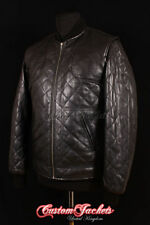 Funnel Neck Waist Length Quilted Coats & Jackets for Men