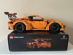 Lego Technic 42056 911 GT3 RS Porsche Fully Assembled - Includes Box And Manual