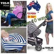 Elastic Baby Stroller Canopy Nursing Breastfeeding Maternity Cover Baby Gift AUS