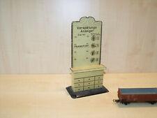 6620) BING 6109 uralt - Spur 0/1 - Verspätungssanzeiger - H. 20,5 cm - selten
