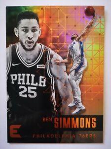 Panini Essentials 2017-18 card carte NBA 76ers #105 Ben Simmons