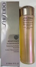 NIB 10 Oz Shiseido Benefiance WrinkleResist24 Balancing Softener Enriched 300mL