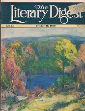 Literary Digest October 18 1930 Adolf Hitler R101 Dirigible Lynching China