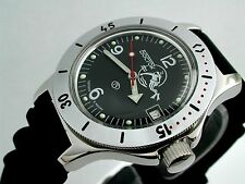 RUSSIAN  VOSTOK AUTO AMPHIBIAN WATCH  FOR DIVING #12634 NEW