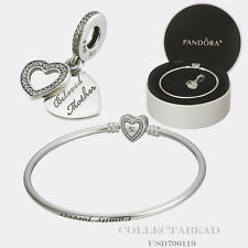 "Authentic Pandora Mother's Day Mother's Love Gift Set 2016 7.5"" USB796119"