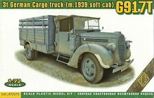 Ace 1/72 (20mm) Ford G917T (m.1939 Soft Cab) German 3t Cargo Truck