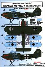 KORA Models LUFTWAFFE ON SKIS HEINKEL He-45C-1 Resin Set with Decals