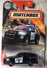 2020 MATCHBOX #48 MBX CITY 2016 FORD POLICE INTERCEPTOR UTILITY