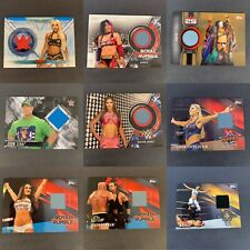 Topps WWE PPV Relics, Shirt Relics, Mat Relics Various Years/Stars  - You Pick