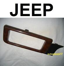 Wood insert interieur 55115117 12050 rev g jeep chrysler grand cherokee zj