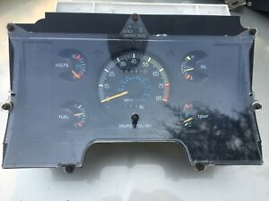 86 87 88 89 90 91 1989 FORD AEROSTAR INSTRUMENT CLUSTER 110K ANALOG