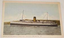 CPSS princess Helene on Digby NS-Saint John NB service postcard