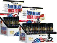 Weider Amino Blast Mega Forte (62,50€/L) 40x 25ml Ampullen Apfel-Kirsche !Aktion