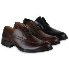 Herren Business Klassische Schnürer Elegante Halbschuhe 825098 Schuhe