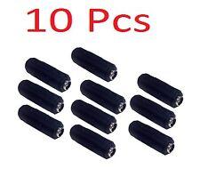 10 Pcs 2.1mm X 5.5mm Dc Cctv Power Cord Coupler Female to Female